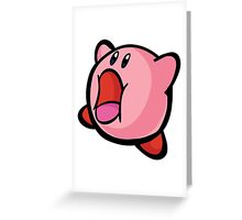 kirby Greeting Card