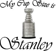 MY CUP SIZE IS STANLEY by Divertions