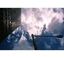 Big City Skyline........lamp post Sydney CBD Photographic Print