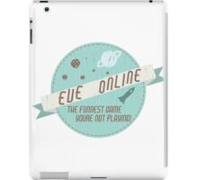 EVE Online - The funnest game youre not playing! iPad Case/Skin