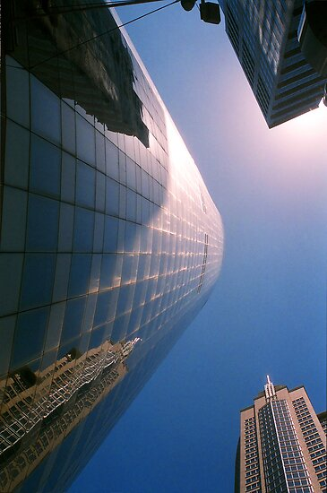 Big City Skyline.......doubled Sydney CBD by Juilee  Pryor