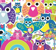 owls by teegs