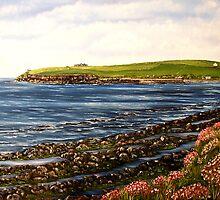 """Kilbaha - county Clare, Ireland"" - Oil Painting by Avril Brand"