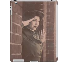 Tanya Wheelock as Peggy Carter (Photography by Markus Zimmerman, with Additional Editing by Tascha Dearing) iPad Case/Skin