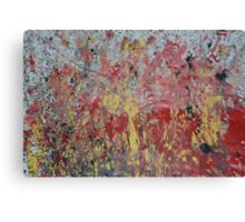 Messy Art  Canvas Print