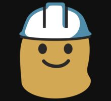 Construction Worker Google Hangouts / Android Emoji Kids Clothes