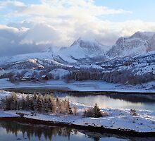 Efjord, Nordland by Bodil Kristine  Fagerthun