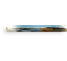 Cliffs of Old Hunstanton Panorama Canvas Print