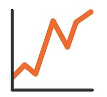 Chart With Upwards Trend Google Hangouts / Android Emoji by emoji