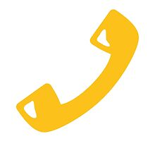 Telephone Receiver Google Hangouts / Android Emoji by emoji