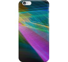 Abstract Colours Long Exposure Phone Case 4 iPhone Case/Skin