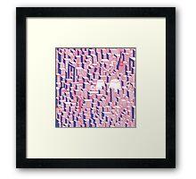 Pattern City Framed Print