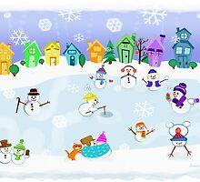 Snow Day Frozen Fun  by Jamie Wogan Edwards