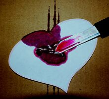 You cut my Heart by Kristine Themsen
