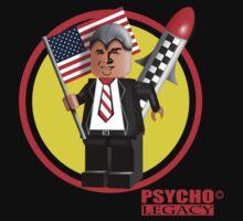 PSYCHO LEGACY T-SHIRT DESIGN 1 by Gavin  North