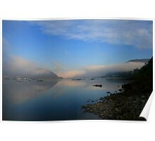 Foggy View Poster