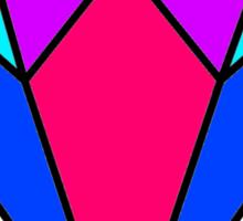 Colourful diamond Sticker