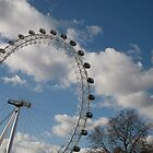 London Eye by Keith Larby