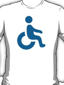 Wheelchair Symbol Google Hangouts / Android Emoji T-Shirt