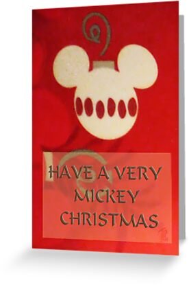 Mickey Christmas Card by TLCGraphics