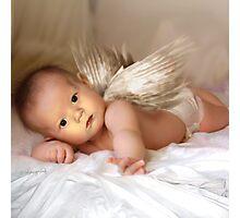 A Christmas Angel for David Parkin Photographic Print