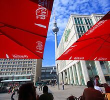 Berlin - The Fernsehturm (TV tower)  by mmarco1954
