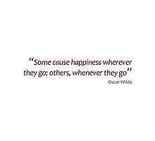 Happiness - wherever or whenever... (Amazing Sayings) by gshapley