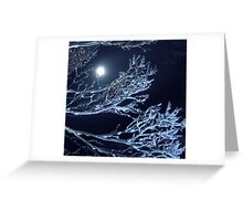 Nature's Blowed Art Glass Greeting Card
