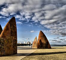 Geelong Waterfront by Cathy Middleton