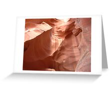 Canyon Curves Greeting Card