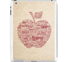 Regina Typography iPad Case/Skin