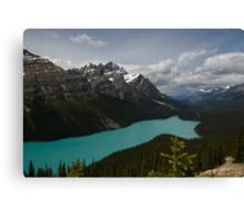Banff National Park, Peyto Lake Canvas Print
