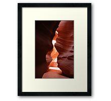 The Fountain Pen - Antelope Canyon Framed Print