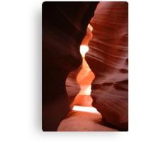 The Fountain Pen - Antelope Canyon Canvas Print