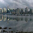 Vancouver Skyline Panorama by Brendan Schoon