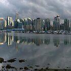 Vancouver Skyline Panorama by Brendan Schoon