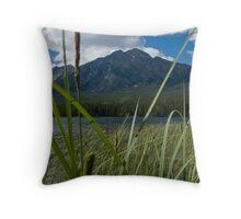 Jasper National Park, Pyramid Lake Throw Pillow