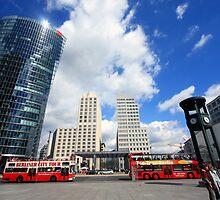 Berlin - Potsdamer Platz  by mmarco1954
