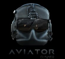 Aviator Gunner Helmet with Mask by rott515