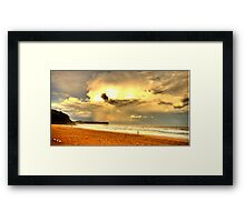 Dreamtime - Warriewood Beach - The HDR Experience Framed Print