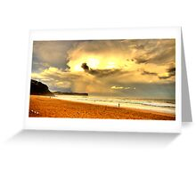 Dreamtime - Warriewood Beach - The HDR Experience Greeting Card
