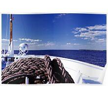 Sailing Forward Poster