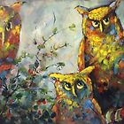 Owls by Ivana Pinaffo