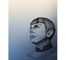 Live Long and Prosper - Blue Photographic Print