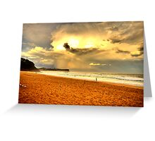 Loneliness - Warriewood Beach - The HDR Experience Greeting Card
