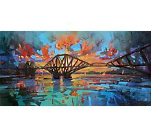 Forth Bridge Dawn Photographic Print