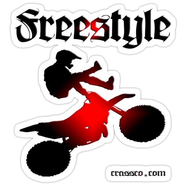 Freestyle - motorcycle by fuxart