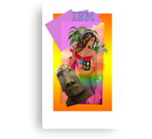 IBM Beauty Canvas Print