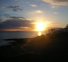 Sunset- Lanzarote - 2005 by chico123