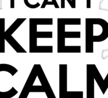 I cant keep calm Im a WANEETA Sticker